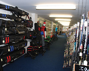 Another view of the tackle shop
